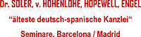 DR. SOLER, v. HOHENLOHE, HOPEWELL, ENGEL